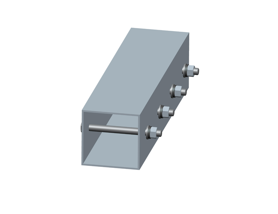 Beam connector for Carport solar mounting system