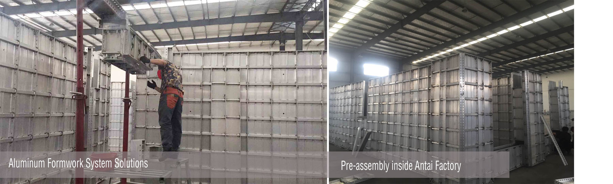 Antai provided aluminum formwork for Wanguocheng Project