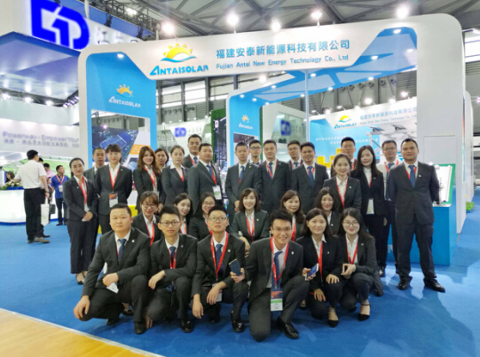 Antaisolar shined at the 2018 SNEC PV show in China