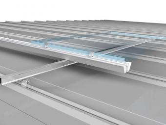 BIPV waterproof roof mounting system